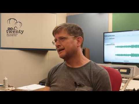 Donal Whelan - Owner of Hafod Mastering - 20Twenty Business Programme Case Study