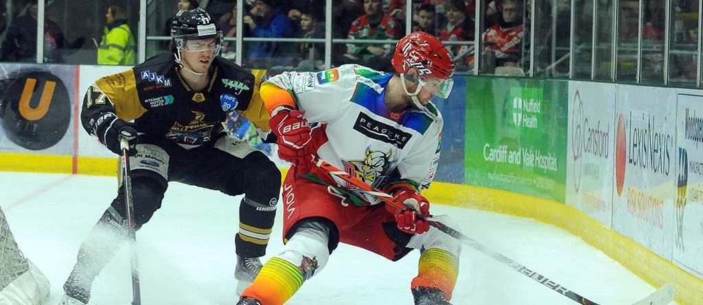 Cardiff Devils Action Shot