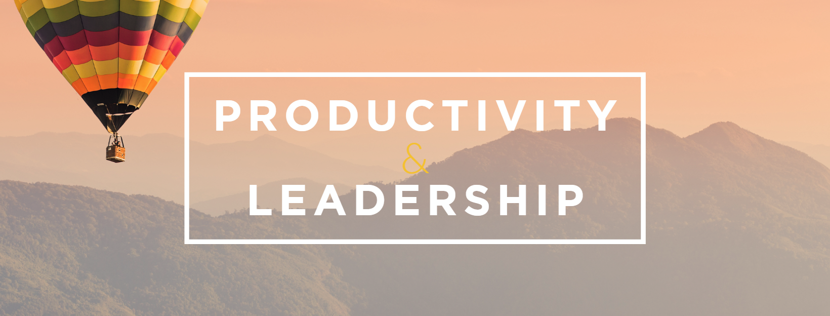 Productivity and leadership study - 20Twenty Business Course