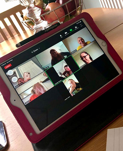 Leadership and Creativity - Nursery care Zoom Meeting
